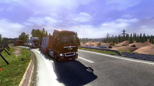 Euro Truck Simulator 2: Going East! Ekspansja PolskaEuro Truck Simulator 2: Going East! Ekspansja Polska - jest korek, są roboty drogowe. To musi być Polska