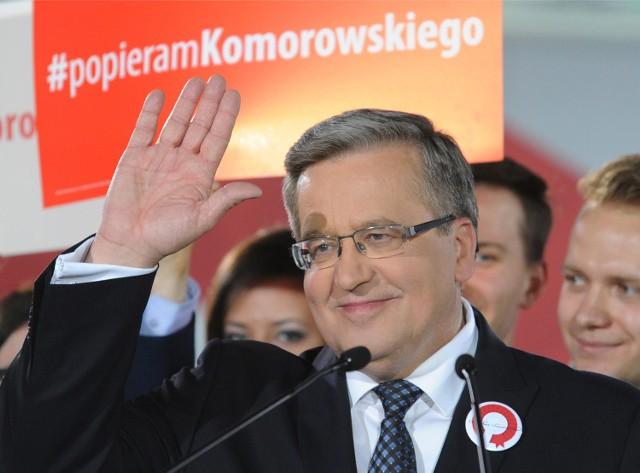 Wyniki wyborów 2015: W Poznaniu zdecydowanie wygrał Komorowski