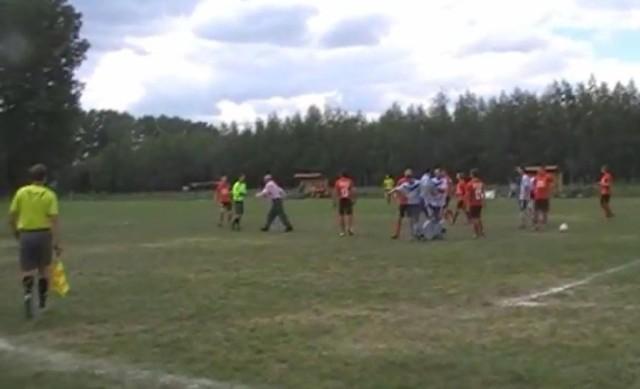 Awantura na meczu pomiędzy Witonianką a Startem Brzeziny