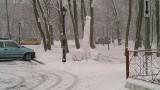 Fallus ze śniegu przed urzędem miasta w Kędzierzynie-Koźlu. Protest społeczny?
