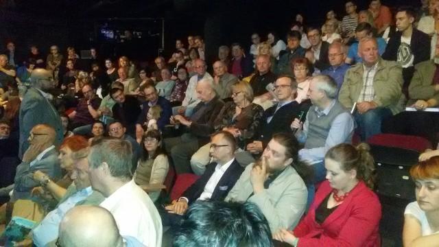 Debata o śląskiej godce odbyła się w Teatrze Korez w Katowicach