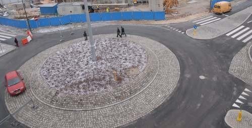 Rondo przy Placu Kopernika