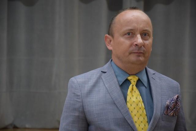 Prof. UZ Marek Wincenty Smoluk podczas uroczystości uhonorowania Lubuszan Honorową Odznaką za Zasługi dla Województwa Lubuskiego, 5 września 2019 r.
