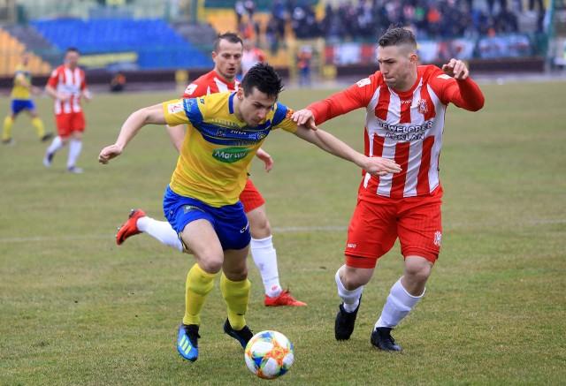 Filip Kozłowski zdobył pierwszą bramkę w niedzielnym meczu