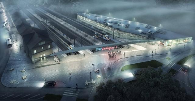 Tam ma wyglądać nowe centrum komunikacyjne w Zakopanem