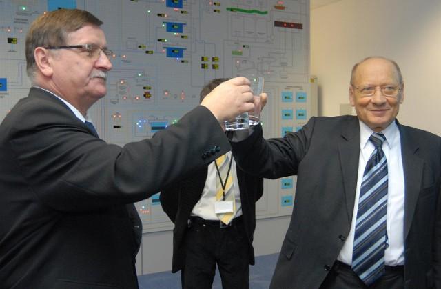 Nowy zaklad uzdadnianie wody prezydent Ferenc uważa za najważniejszą inwestycję w ostatnim czasie.
