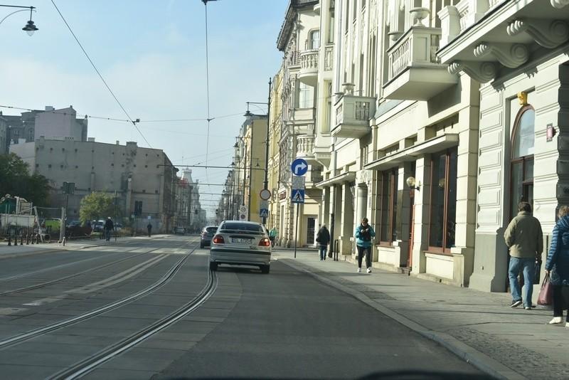 Oznakowanie skrzyżowania ul. Narutowicza z ul. Wschodnią...