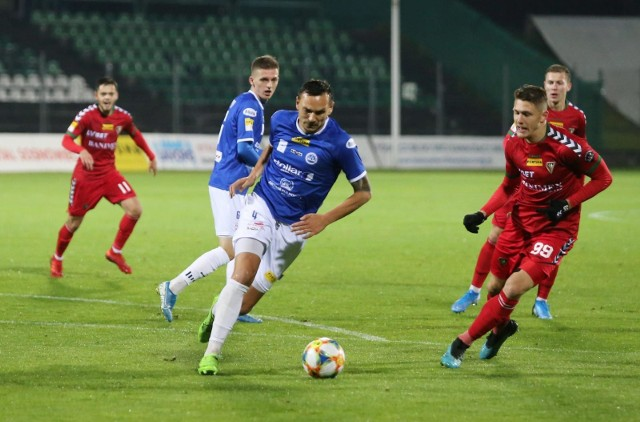 Wigry Suwałki doznały dziesiątej porażki w tym sezonie Fortuna I Ligi