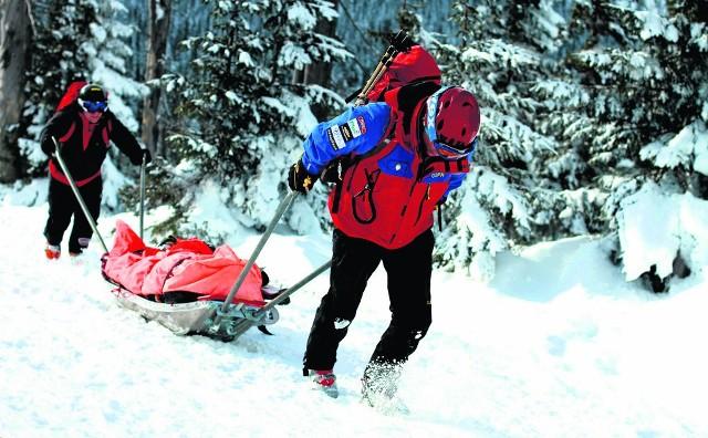 Warunki w wysokich partiach gór już są zimowe