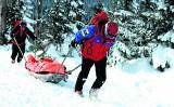 W górach już zima. Ratownicy mają mnóstwo pracy