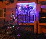 Świąteczne bydgoskie balkony oczarowują iluminacją. Czekamy na Wasze zdjęcia balkonów! [GALERIA ZDJĘĆ]