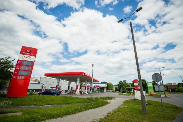 Stacja paliw, która ustąpi pola wieżowcowi na Wyżynach