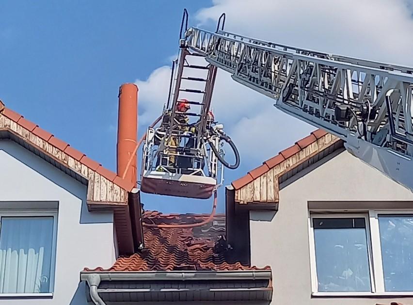 Strażacy otrzymali zgłoszenie o pożarze w piątek, 18...