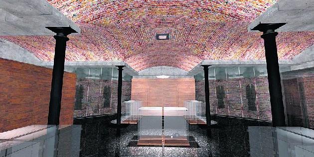 Tak ma wyglądać sama podziemnego muzeum.