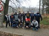 Master Pharm Rugby Łódź. Biegali po Lesie Łagiewnickim. W nagrodę... ciepła herbatka