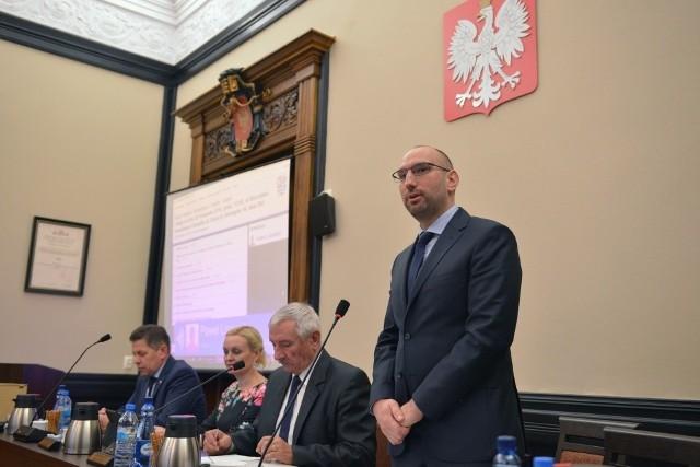 Paweł Lisowski, starosta słupski.