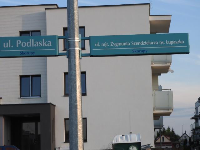 W Białymstoku ulica Łupaszki pojawiła się w przestrzeni miasta w 2018 roku