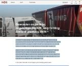 Wypadek polskiego busa w Holandii. Kierowca wjechał w ciężarówkę