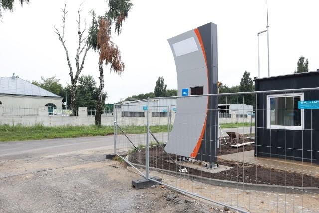 Stacja gazu ziemnego CMG będzie czynna za kilka tygodni.