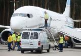 BABIMOST. Ochrona zatrzymała podróżnego za filmowanie odprawy na lotnisku w Babimoście. Mężczyznę przekazano straży granicznej