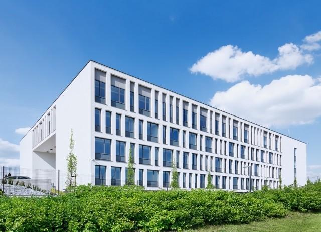 Budynek biurowy ATRION w Tychach – przebudowa, nadbudowa i rozbudowa