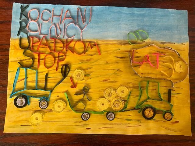 Z nadesłanych prac wynika, że dzieci wiedzą, jakie są zagrożenia i jak  należy bezpiecznie pracować w gospodarstwie rolnym