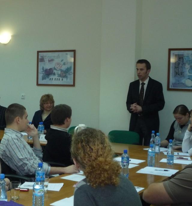 Pierwsze szkolenie ankieterów odbyło się na początku grudnia. Kolejne już jutro w południe.
