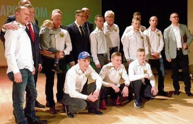 Na prezentacji pilskiej Polonii pojawili się niemal wszyscy żużlowcy tego zespołu