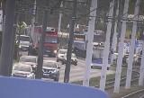 Bydgoszcz: Auto na torach tramwajowych. Utrudnienia w ruchu