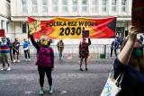 Demonstranci przed Ministerstwem Aktywów Państwowych. Domagają się odejścia Polski od węgla do 2030 roku