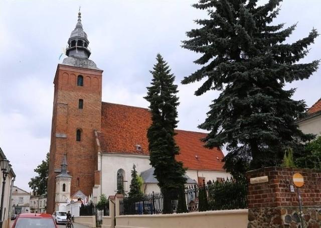 Na zdjęciu Bazylika św. Jakuba Apostoła w Piotrkowie