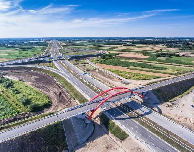 Autostrada A4 odcinek Rzeszów - Jaroslaw jest już otwarta