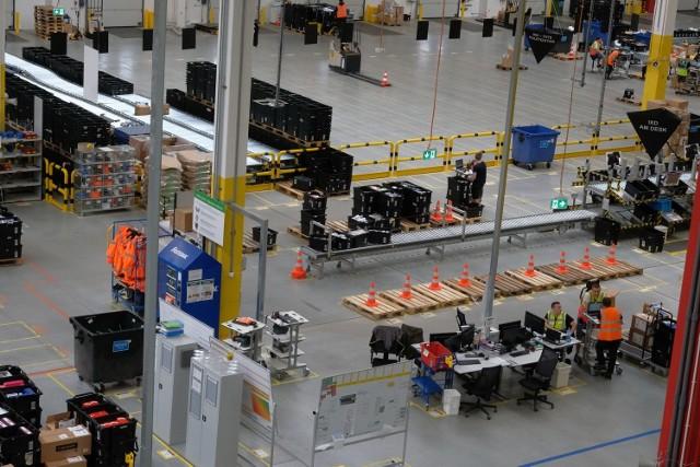 Centrum Logistyki E-Commerce Amazon w Sosnowcu