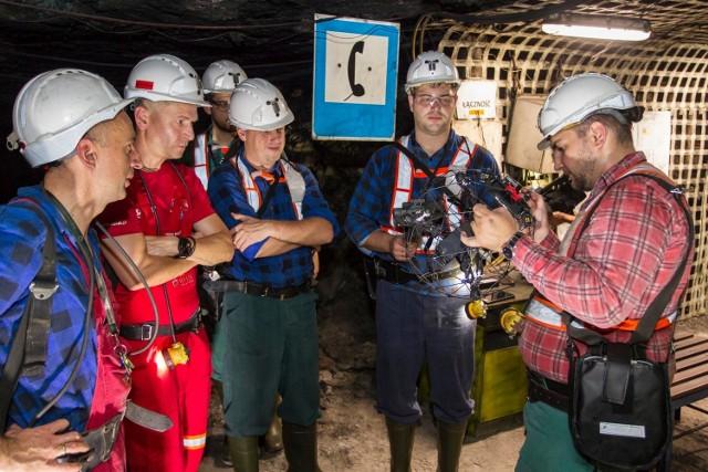 Drony będą pracować w kopalni? Pierwsze testy już trwają