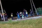 Wypadek w Łambinowicach. Na przejeździe kolejowym zginął mężczyzna