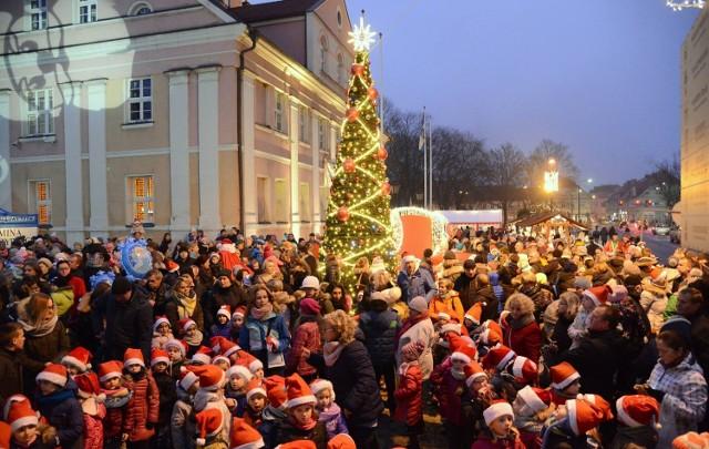 Jarmark Bożonarodzeniowy w Międzyrzeczu.