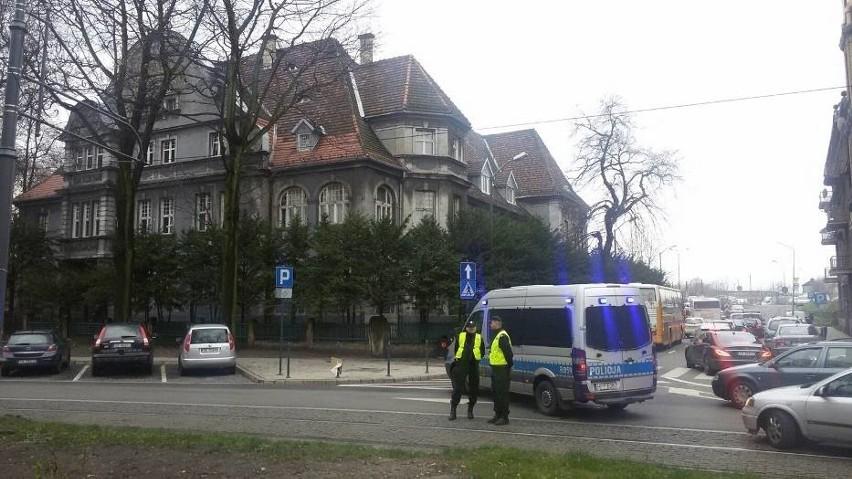 Alarm bombowy w katowickim Sądzie Rejonowym