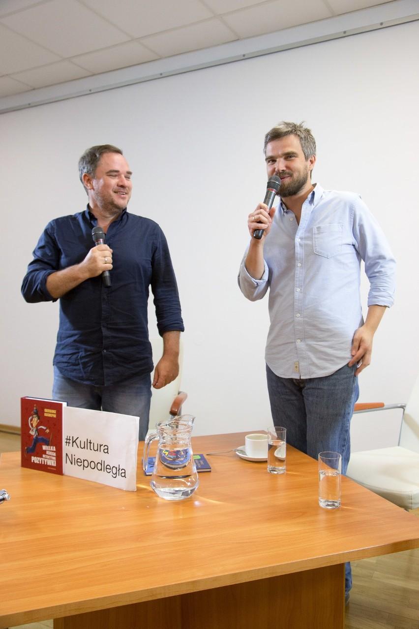 Grzegorz Kasdepke, Zygmunt Miłoszewski i Mariusz Czubaj na...