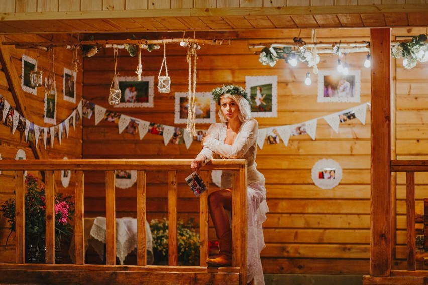Mini targi ślubne w Kurpiowskiej Krainie w Wykrocie. 12.07.2020. Zdjęcia