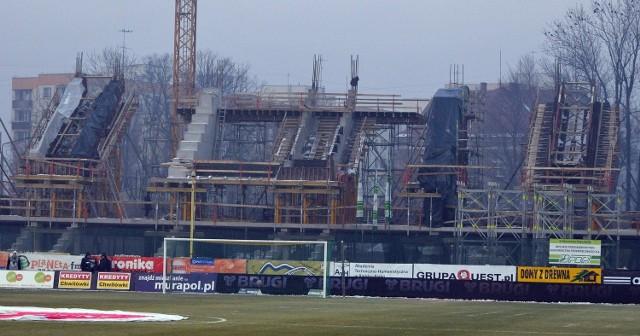 Budowa nowego stadionu w Bielsku-Białej