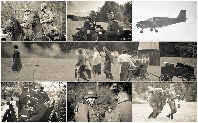 Jak wyglądały pierwsze dni września w Gródku. Wszystkie zdjęcia pochodzą z inscenizacji w 2019 roku. Niektóre są stylizowane na stare