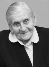 Pożegnanie najstarszej mieszkanki gminy Zgierz. Pani Marta Chylińska miała 103 lata