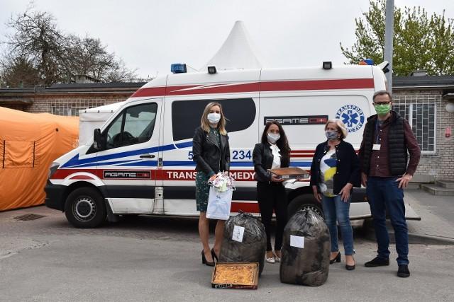 Pomoc z Zakładu Karnego w Krzywańcu dla lubuskich szpitali i policji