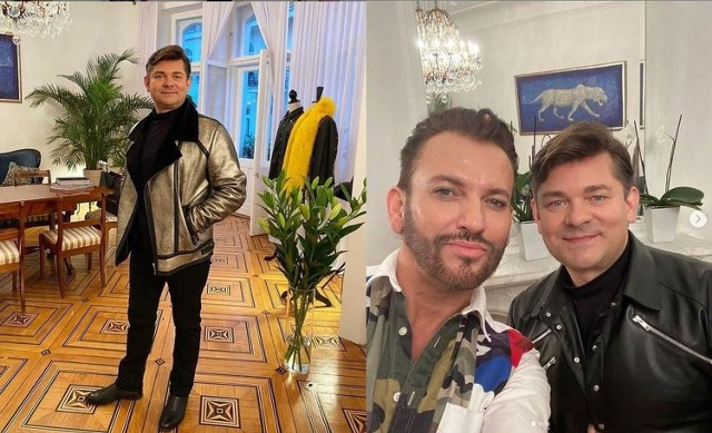 Niedawno Zenek Martyniuk po raz kolejny odwiedził Gabriela Seweryna i odebrał od niego wspaniały złoty kożuch.