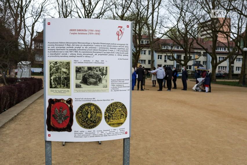 Szczecin. Plenerowa wystawa z okazji 230. rocznicy uchwalenia Konstytucji 3 Maja