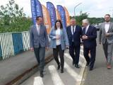 Przebudowa starego mostu na Wiśle w Sandomierzu stała się faktem. Inżynierowie zabierają się do pracy (WIDEO, ZDJĘCIA)
