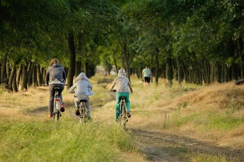 Jazda na rowerze jest dozwolona. Można wybierać się na...