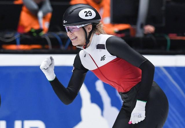Maliszewska nie miała w sobotę łatwej drogi. W ćwierćfinale wyprzedziła mocną Włoszkę Martinę Valcepinę, a w półfinale przyjechała do mety jako trzecia, ale z bardzo dobrym czasem, co pozwoliło jej na występ w finale A.
