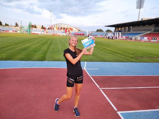 Maja Peryt zasłużyła już na kolejne stypendium w roku 2022.