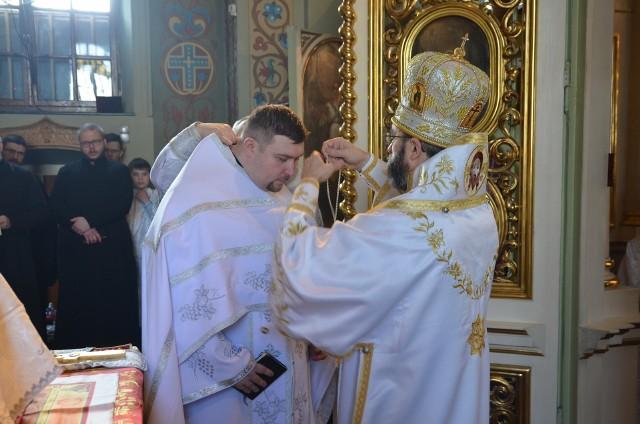 Sobór Świętego Mikołaja w Białymstoku. Święcenia ks. Dariusza Sulimy